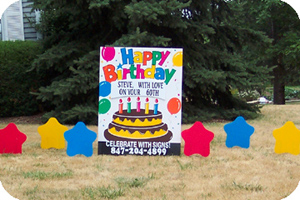 Happy Birthday Signs For Your Yard
