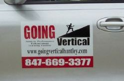 Going Vertical vehicle magnet